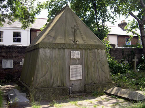 Sir Richard Burton's Tent Tomb - London, England, UK - Atlas Obscura Blog