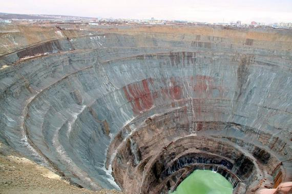 Mir Open Pit Diamond Mine - Yakutiya, Russia - Atlas Obscura Best Of