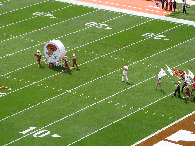 Big Bertha Drum - University of Texas - Atlas Obscura Sports Blog