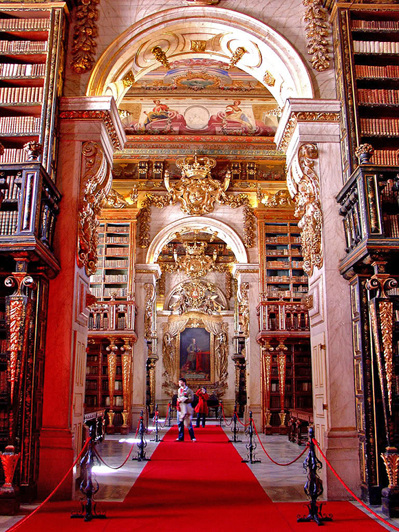 Joanina Library - University of Coimbra, Portugal