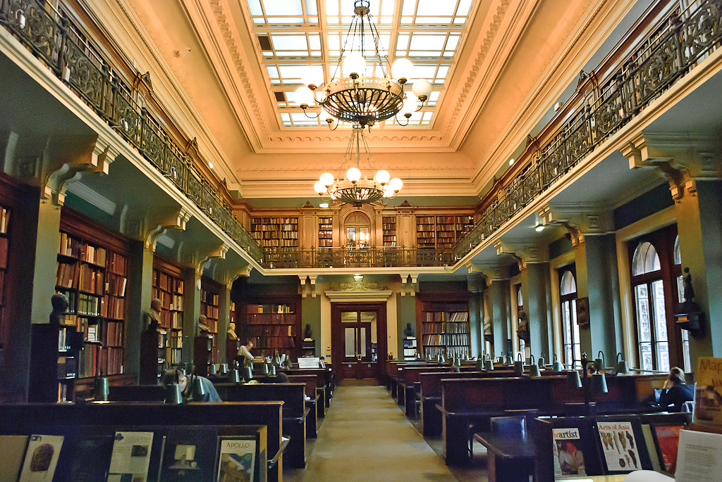 National Art Library, Victoria and Albert Museum, London