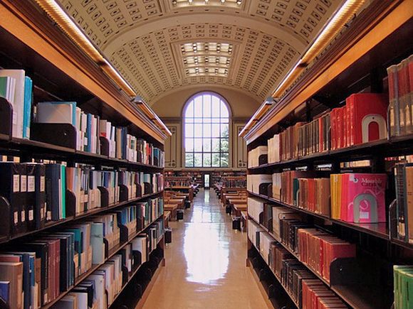 North Reading Room, UC Berkeley Library, CA