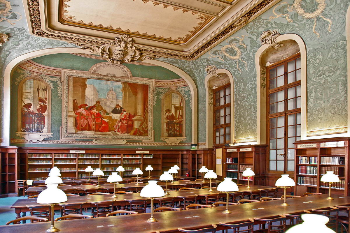 Sorbonne Library, Paris, France