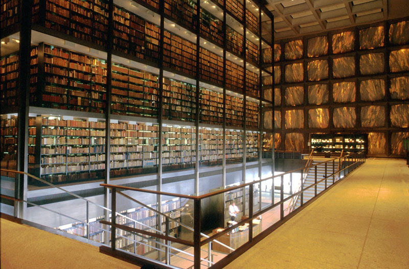 Beinecke Rare Book and Manuscript Library, Yale University, New Haven, Connecticut