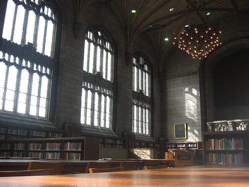 Harper Library, University of Chicago, Illinois