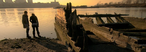 The Ghost Ships of Coney Island Creek.