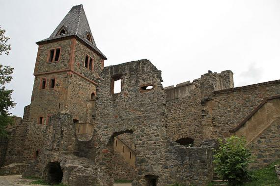 Castle Frankenstein - Darmstadt Germany - Literary Atlas Obscura Blog