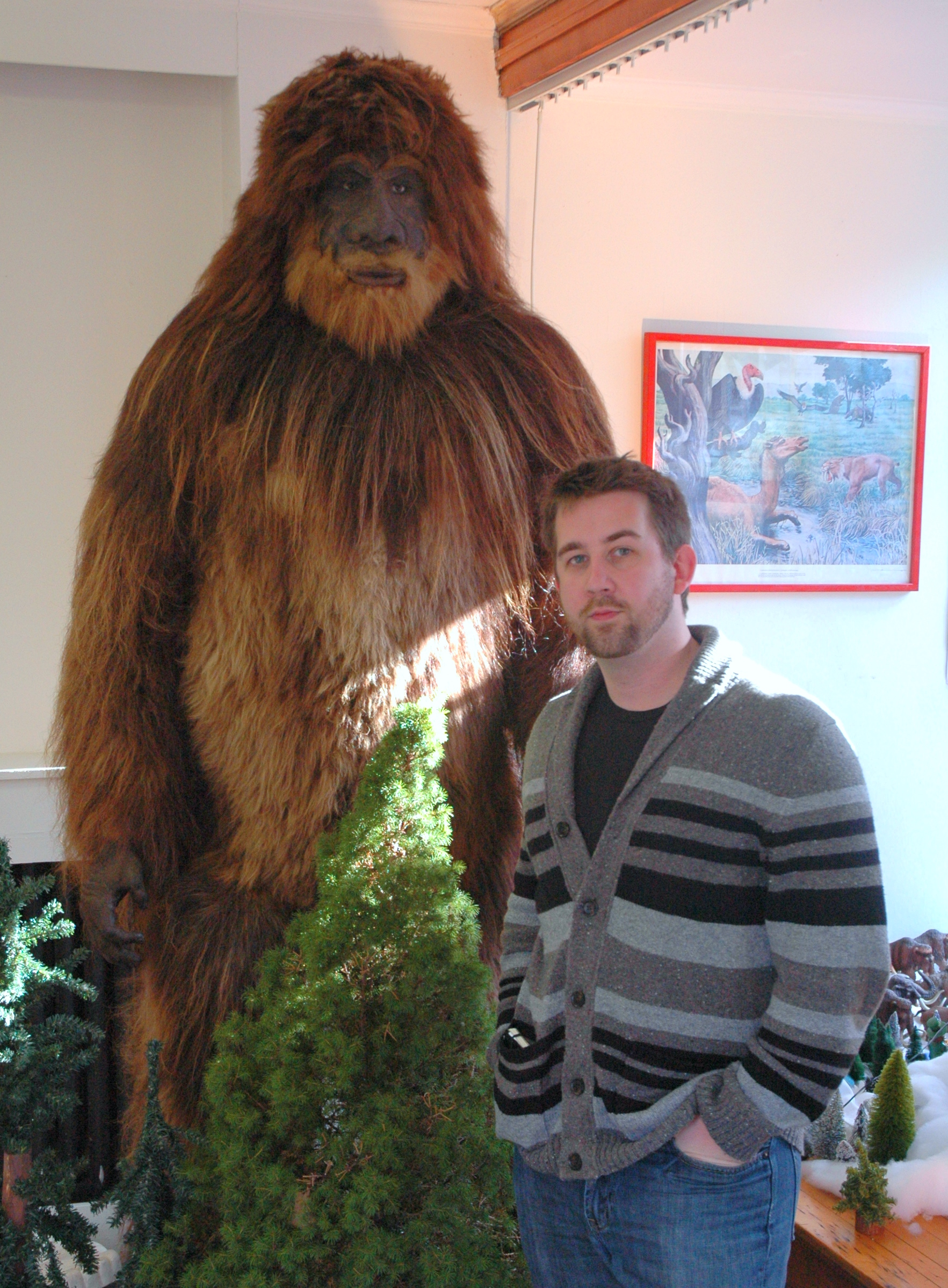 Bigfoot at the International Cryptozoology Museum - Atlas Obscura