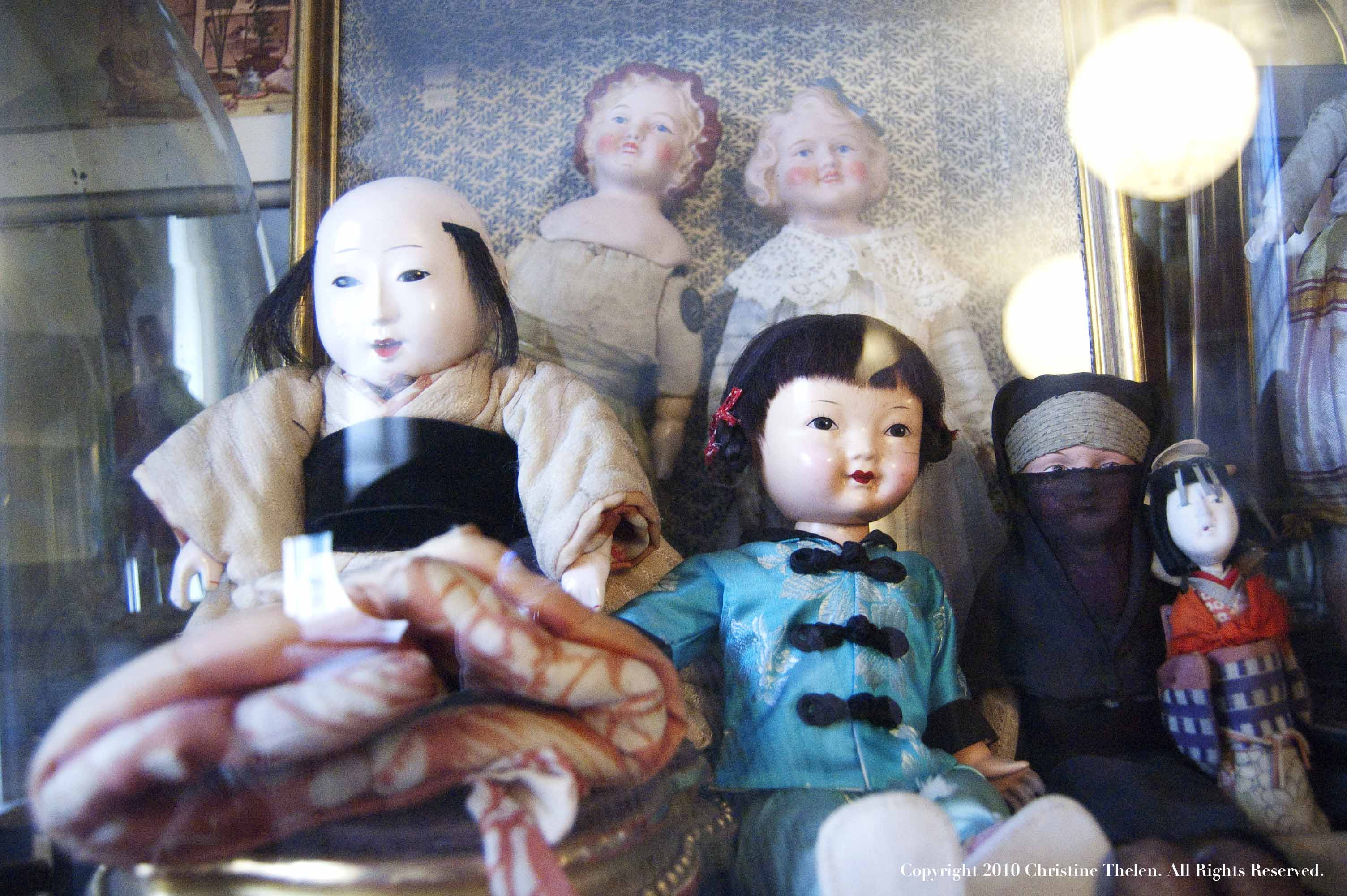 Wax Doll Collection - Pollock's Toy Museum - Atlas Obscura Blog