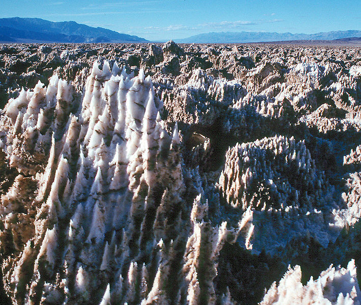 Devil's Golf Course - Weird Salt Formations - Atlas Obscura Blog