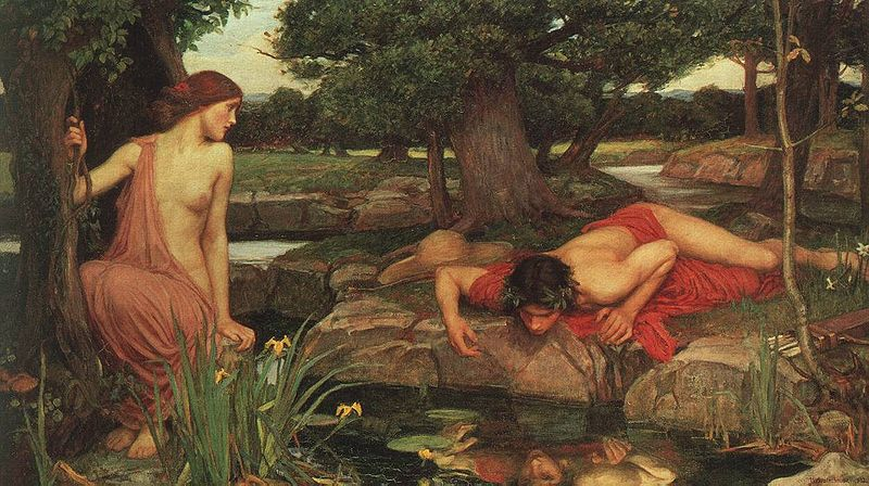 Echo and Narcissus - #morbidmonday Atlas Obscura on Twitter - Deadly Beauty