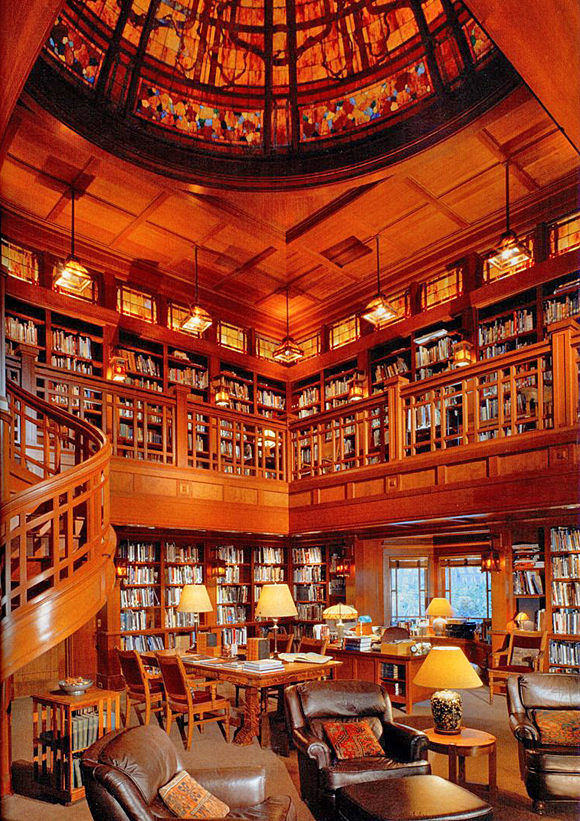 George Lucas Library on Skywalker Ranch, Nicasio, California