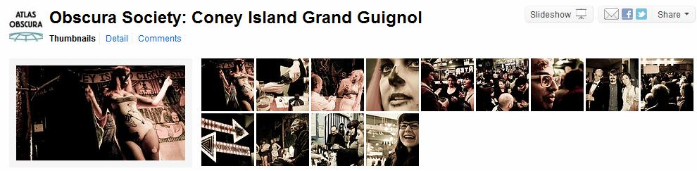 Obscura Society Grand Guignol Pictures