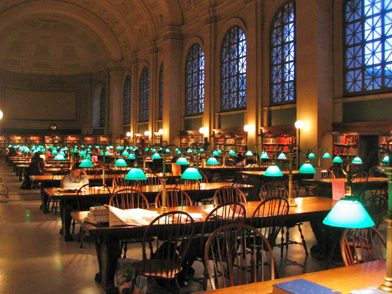 Widener Library at Harvard University, Cambridge, Massachusetts