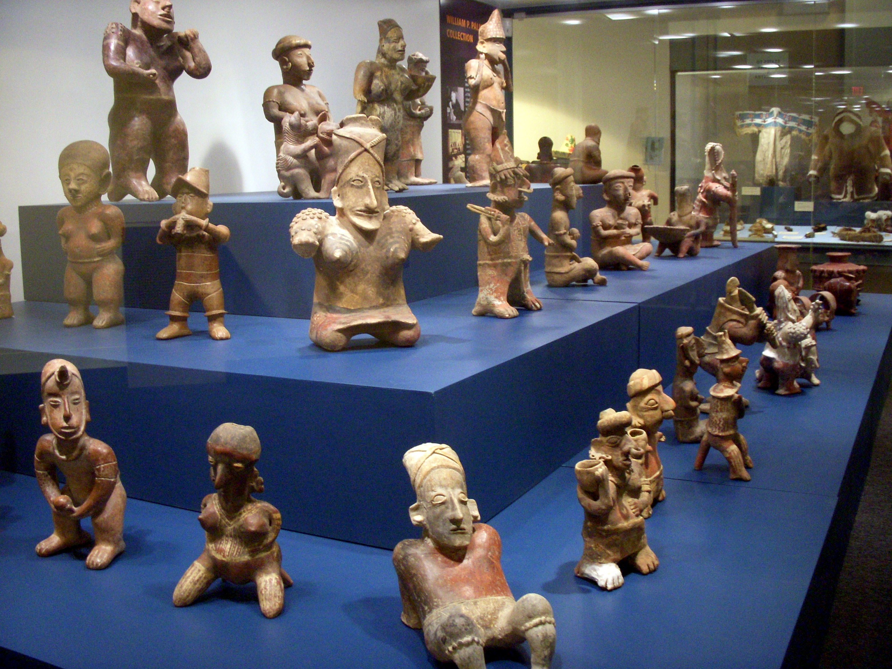 West Mexican funerary figures at the Hudson Museum - Atlas Obscura Blog