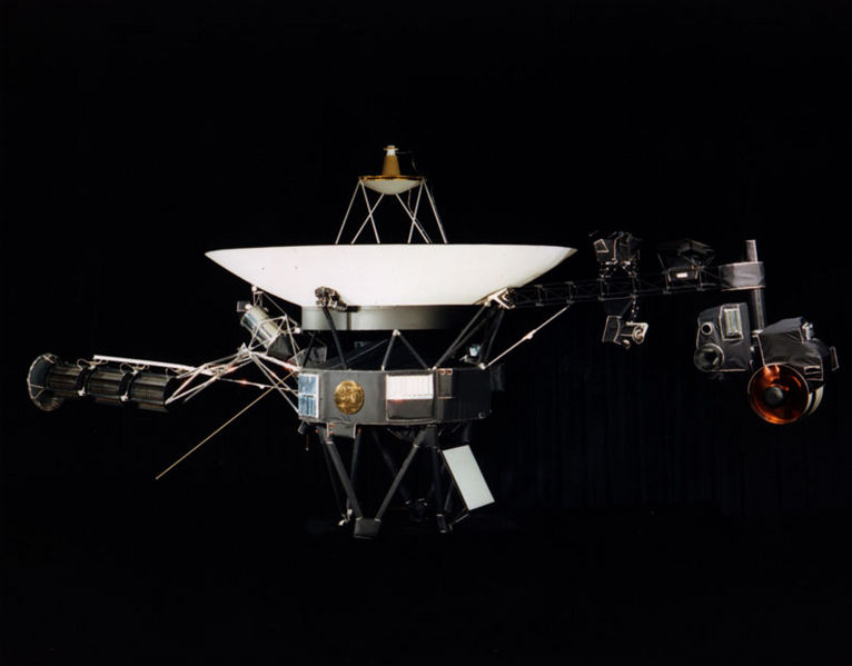 Voyager I Satellite - Atlas Obscura Blog - JPL NASA