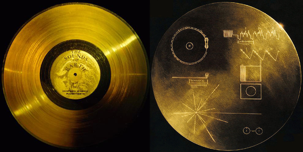 Voyager Golden Records - Atlas Obscura Blog - Jet Propulsion Lab