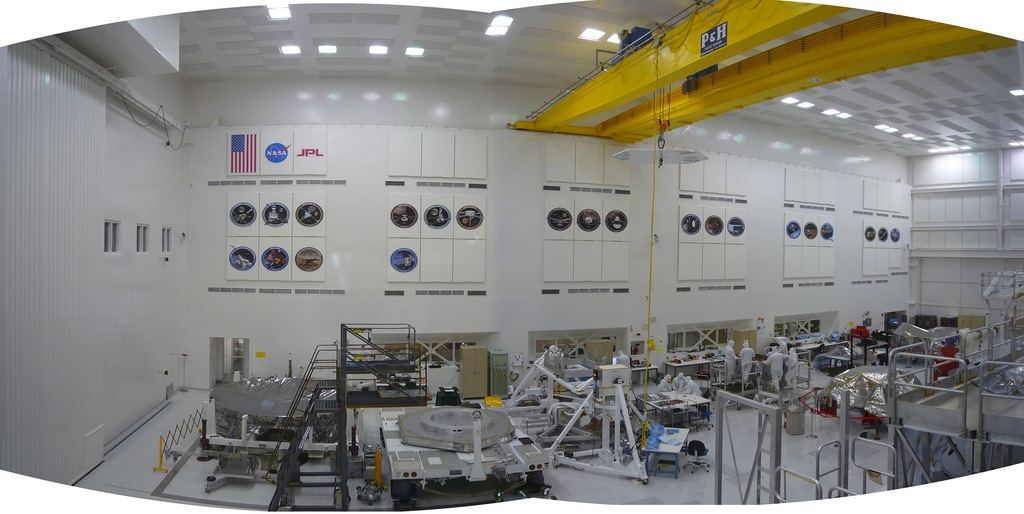 Cleanest Room in California - Jet Propulsion Laboratory - Trevor David Photo
