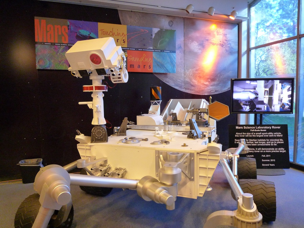Mars Science Laboratory Rover Model - Atlas Obscura Blog - Trevor David