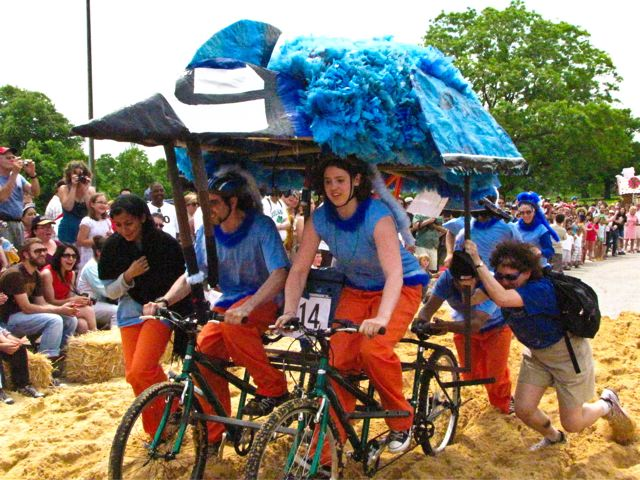 Kinetic Sculpture Race - Blue Jay