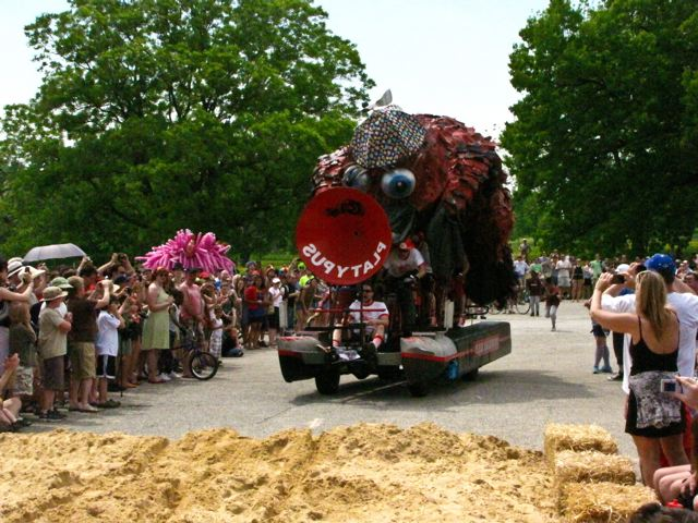Kinetic Sculpture Race - Platypus