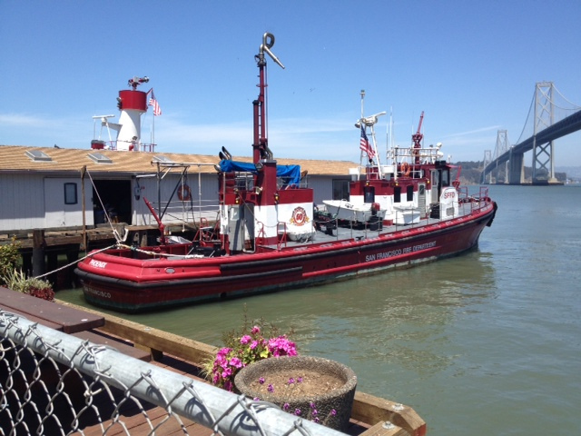 Obscura Society - San Francisco Fireboat tour