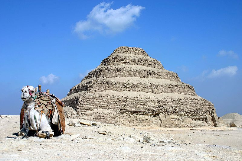 Saqqara Stepped Pyramid - Egypt - Atlas Obscura - Morbid Monday on Twitter