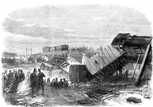 Charles Dickens Rail Crash