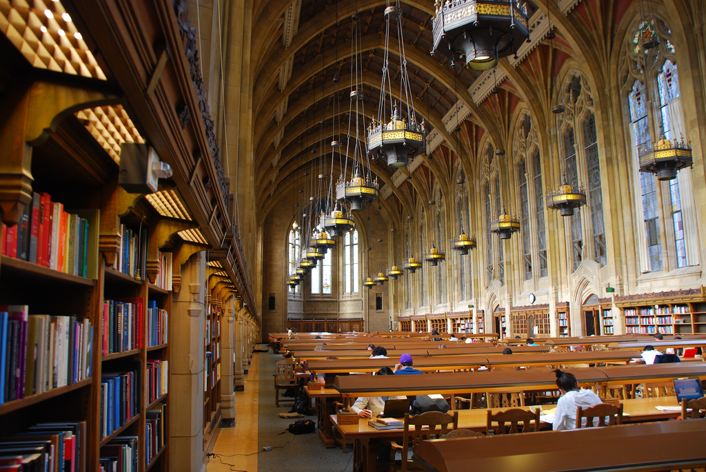 Suzzallo Library at University of Washington