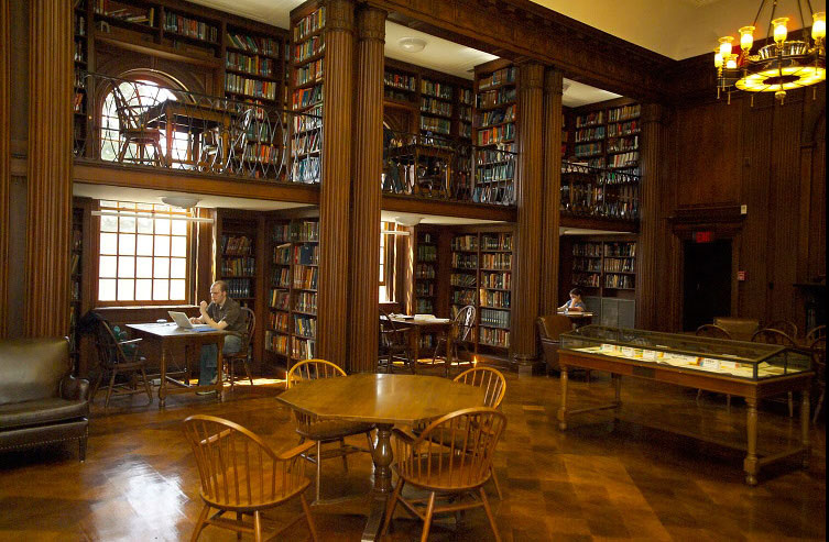 Day Missions Library at Yale Divinity School, New Haven, Connecticut