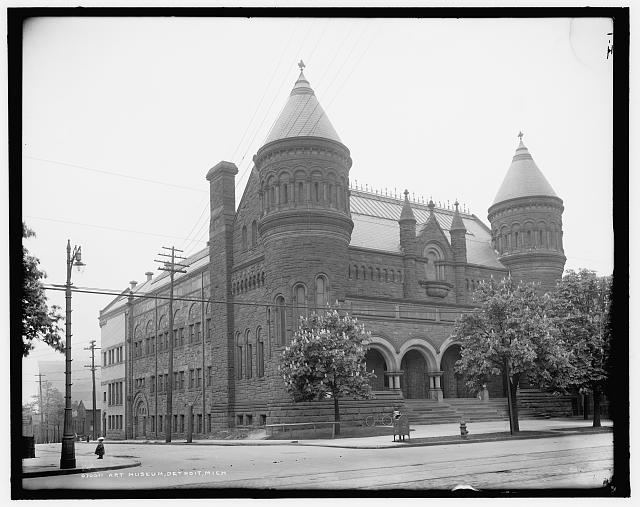 Detroit Art Museum Turn of the Century - Atlas Obscura Photo Blog