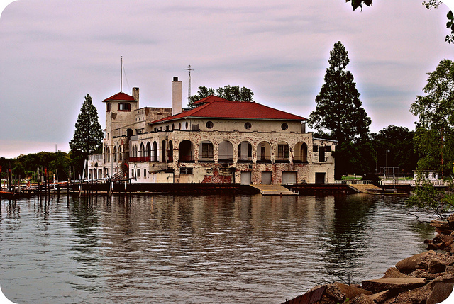 Detroit Boat Club today - Belle Isle - Atlas Obscura History of Detroit
