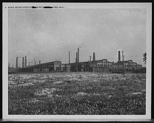 Copper & Brass Rolling Mills - Detroit 1910-1920 - Atlas Obscura Blog