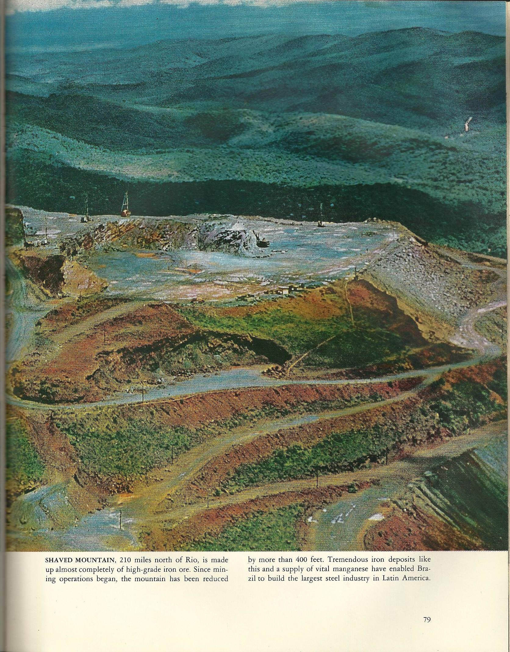 Brazil Iron Ore Mine 50 Yrs Later - Atlas Obscura Blog - Life World Library