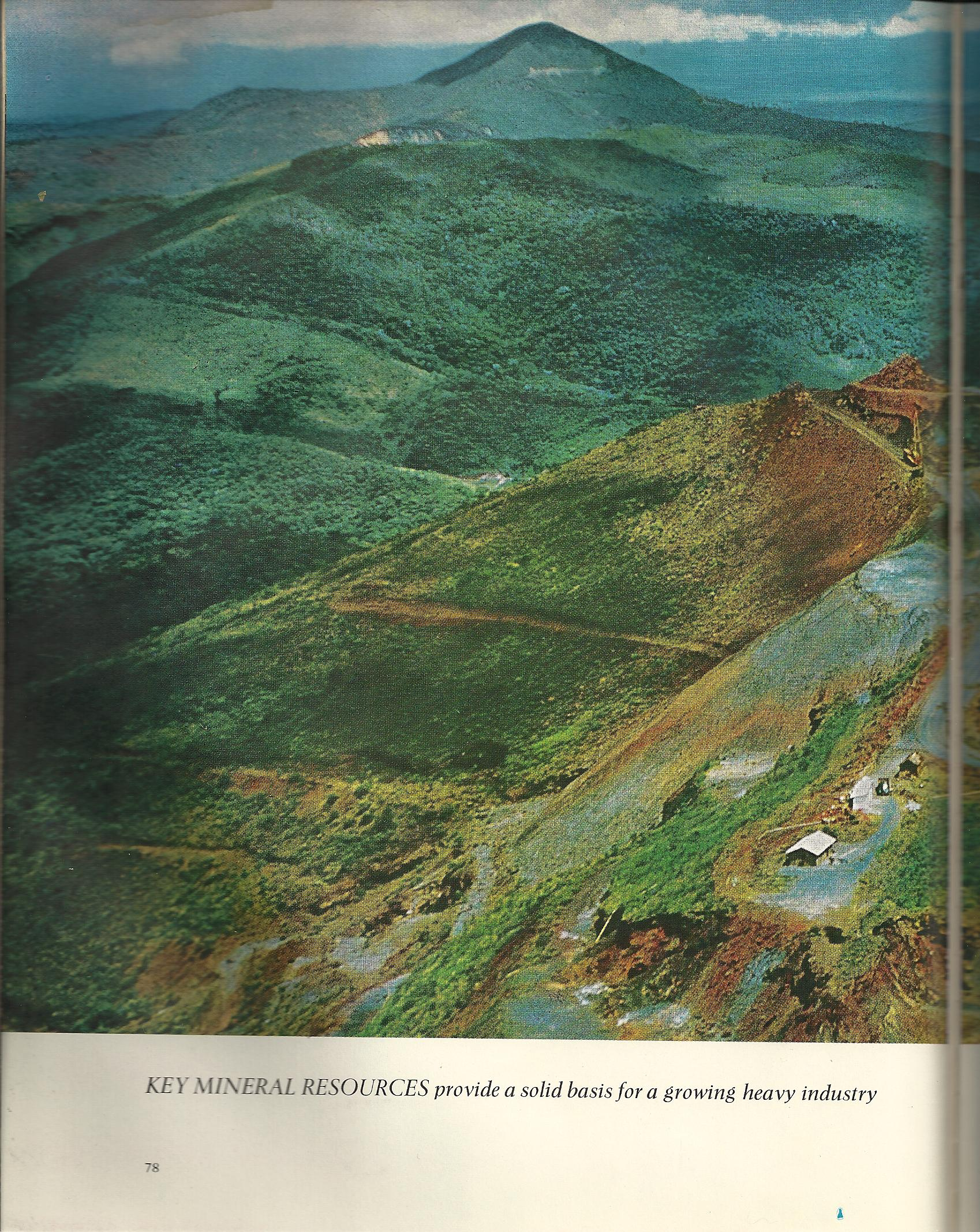 Brazil Iron Ore Mine - 1962 - Time Life World Library - Atlas Obscura Blog