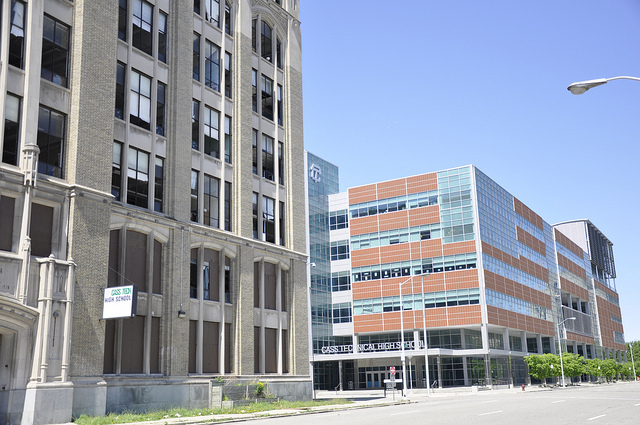 Cass Tech High School - New Buildings in Detroit - Atlas Obscura Blog