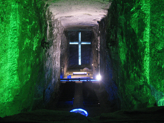 Salt Cathedral - Columbia - Saltiest Places on Earth - Atlas Obscura Blog