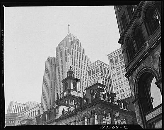 Detroit City Hall in 1942 - Atlas Obscura Blog's Photo History of Detroit