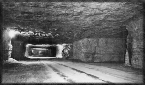 Detroit Salt Mine - Atlas Obscura Blog - Saltiest Places in the World