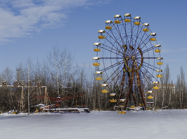 Ferrish Wheel at Chernobyl - Ferris Wheel Day February 14th - Atlas Obscura