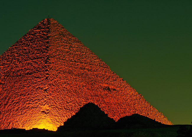 Robot Drilling into Great Pyramid - Discovery News Image - Atlas Obscura
