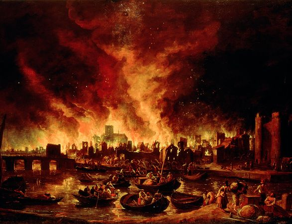 Apocalypse Pictures - Great Fire of London - Atlas Obscura Media Roundup