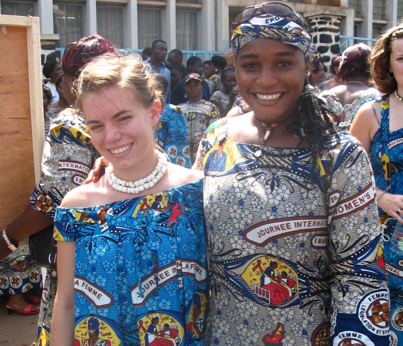 International Women's Day - Yaounde Cameroon 2005 - Sarah Brumble