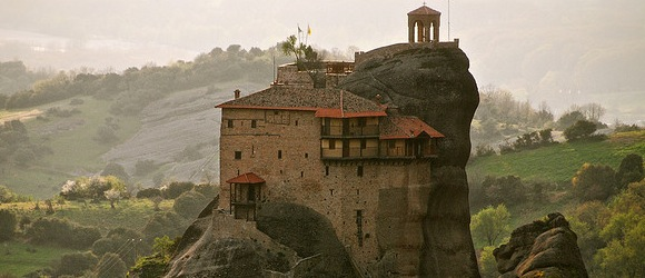 Meteora Monasteries - Greece - Precariously Perched Places - Atlas Guide