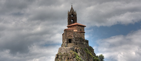 Saint Michael d'Aiguilhe - Needle - France Volcano - Precarious Perching Places