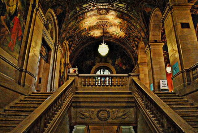 Detroit Public Library Today - 2010 - Atlas Obscura History of Detroit