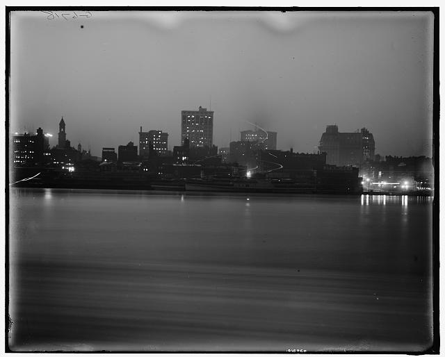 Detroit Skyline 1900 1915 - Detroit Photo History - Atlas Obscura Blog