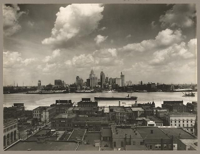 Detroit Skyline 1924 - Photo History of Detroit - Atlas Obscura Blog