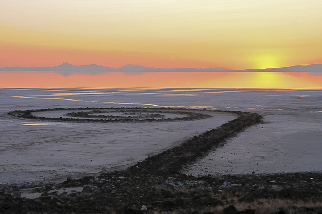 Great Salt Lake Sprial Jetty - Atlas Obscura's Salt Wonders on Earth