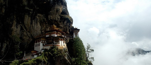 Tiger's Nest Monastery - Bhutan - Precariously Perched Places - Atlas Obscura Guide